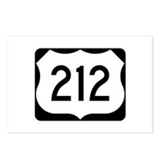 US Route 212 Postcards (Package of 8)