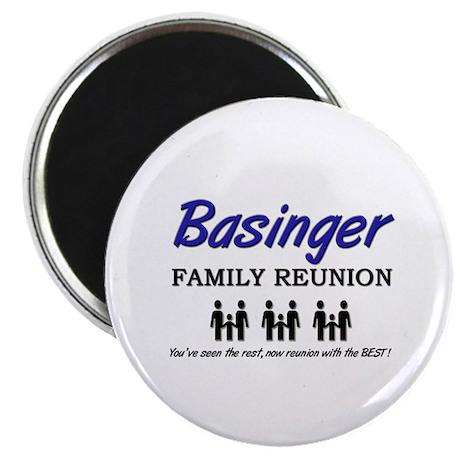 Basinger Family Reunion Magnet