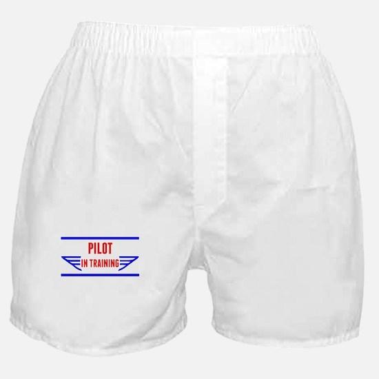 Pilot In Training Boxer Shorts