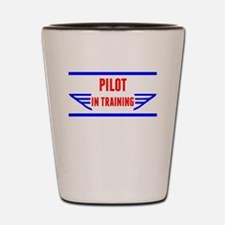 Pilot In Training Shot Glass