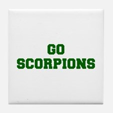 Scorpions-Fre dgreen Tile Coaster