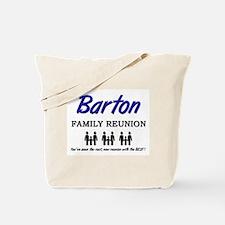 Barton Family Reunion Tote Bag