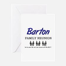 Barton Family Reunion Greeting Cards (Pk of 10