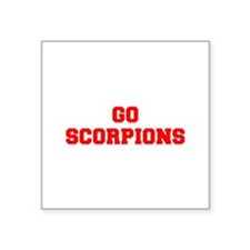 SCORPIONS-Fre red Sticker