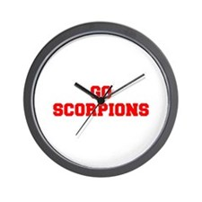 SCORPIONS-Fre red Wall Clock