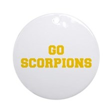 Scorpions-Fre yellow gold Ornament (Round)