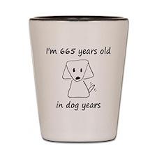 95 dog years 6 Shot Glass