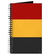 """Belgium Flag"" Journal"