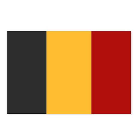 """Belgium Flag"" Postcards (Package of 8)"