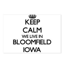 Keep calm we live in Bloo Postcards (Package of 8)