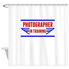 Photographer In Training Shower Curtain