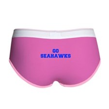 Seahawks-Fre blue Women's Boy Brief