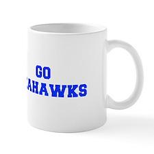 Seahawks-Fre blue Mugs