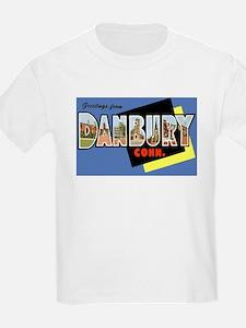 Danbury Connecticut Greetings (Front) T-Shirt