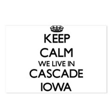 Keep calm we live in Casc Postcards (Package of 8)