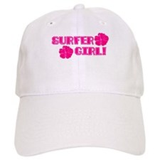 Surfer Girl Baseball Cap