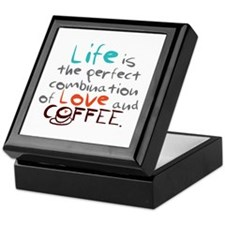 Life is the perfect combination of love and coffee