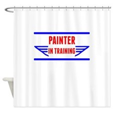 Painter In Training Shower Curtain