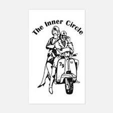 The Inner Circle Rectangle Decal