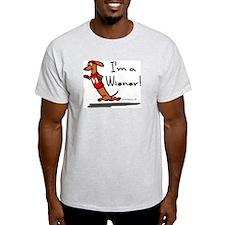 Red Wiener Winner T-Shirt