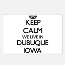Keep calm we live in Dubu Postcards (Package of 8)