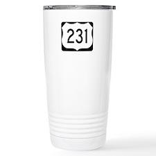 US Route 231 Travel Coffee Mug