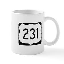 US Route 231 Mug
