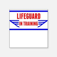 Lifeguard In Training Sticker