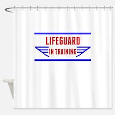 Lifeguard In Training Shower Curtain