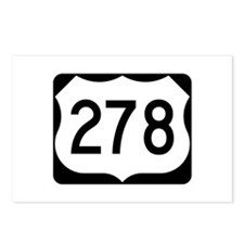 US Route 278 Postcards (Package of 8)