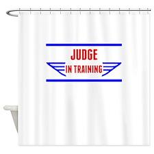 Judge In Training Shower Curtain