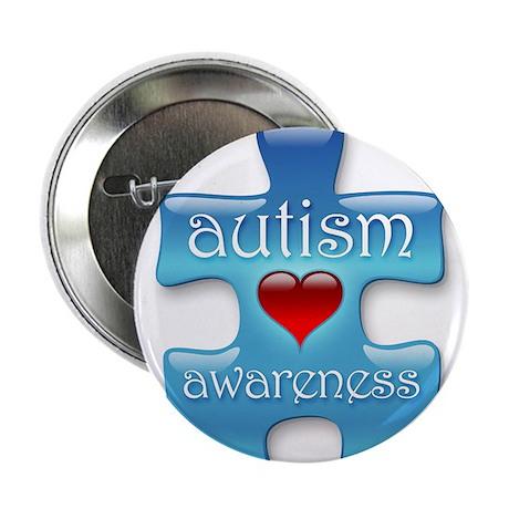 """Autism Awareness (B) 2.25"""" Button (10 pack)"""