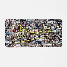 Perfect! Princess Diana Aluminum License Plate