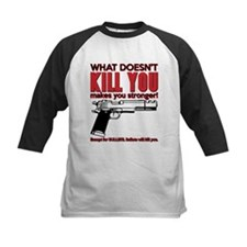 What doesn't kill you Baseball Jersey