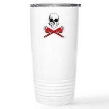 Plumber Skull Travel Mug