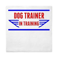 Dog Trainer In Training Queen Duvet