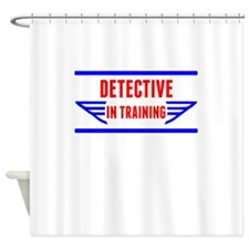 Detective In Training Shower Curtain