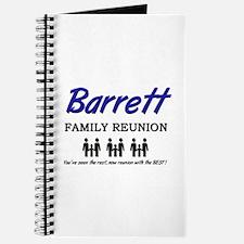 Barrett Family Reunion Journal