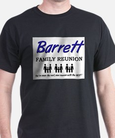 Barrett Family Reunion T-Shirt