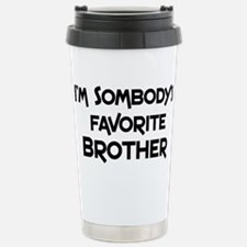 Cute Brother Stainless Steel Travel Mug