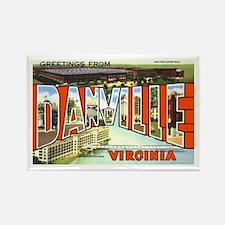 Danville Virginia Greetings Rectangle Magnet