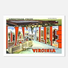Danville Virginia Greetings Postcards (Package of