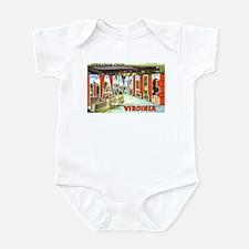 Danville Virginia Greetings Infant Bodysuit