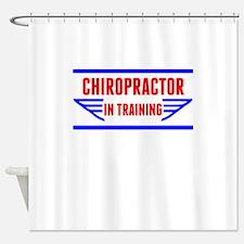 Chiropractor In Training Shower Curtain