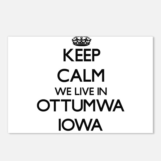Keep calm we live in Ottu Postcards (Package of 8)