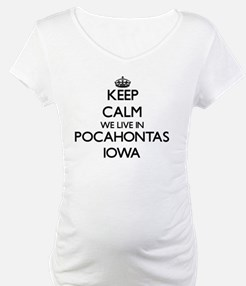 Keep calm we live in Pocahontas Shirt
