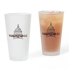 Washington DC: The Capital Drinking Glass
