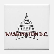 Washington DC Tile Coaster