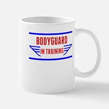 Bodyguard In Training Mugs