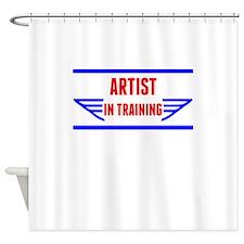 Artist In Training Shower Curtain